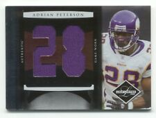 ADRIAN PETERSON 2008 Limited DUAL GAME JERSEY #02/30 Minnesota VIKINGS