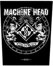 Machine Head-dos écusson backpatch Classic Crest