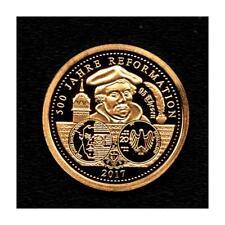 Medaille '500 Jahre Reformation' - Gold 585