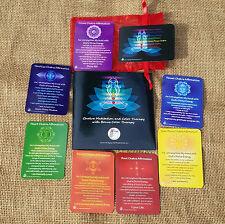 Chakra Affirmation Cards & Chakra Meditation Blu-Ray Video Set