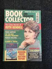Book Collector Magazine, Jan 2003, Ruth Rendell, Pollyanna, Harry Potter First