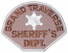 GRAND TRAVERSE COUNTY MICHIGAN MI Sheriff Police Patch STAR