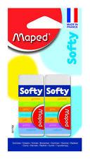 Helix Maped Softy cómodo borrador (2 Pack) Goma Artista Dibujo Craft