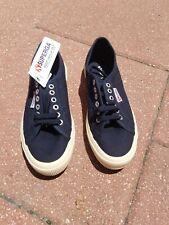 Superga 2750 Cotu Classic Navy 39 1/2  Mens 7 Ladies 8 1/2 Shoe