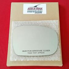 NEW Mirror Glass + ADHESIVE PATHFINDER FORESTER QX4 Passenger Right RH Side
