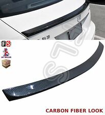 MERCEDES C CLASS W204 COUPE 2D AMG REAR TRUNK BOOT LIP SPOILER 08-13 CARBON LOOK