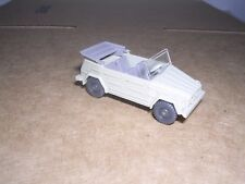 """Wiking #3k Volkswagon 181 w/Top Down """"Tan"""" - Imported 1972"""