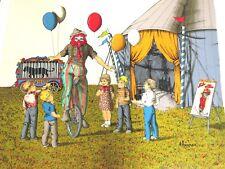 "H. Hargrove    ""Cycling Clown """