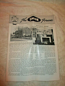 Collectible~The Union Forever~Company Newspaper~The Union Fork & Hoe Co.~1954