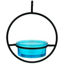 "Couronne - 7"" Hanging Sphere Bird Feeder - Aqua"