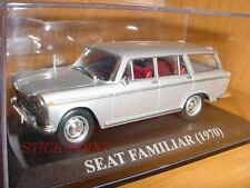 Seat 1500 family silver 1970 1:43 mint!!! INCLUDES BOX!