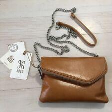 Hobo Daria Crossbody Clutch Purse Convertible Small Brown Leather NWT Caramel