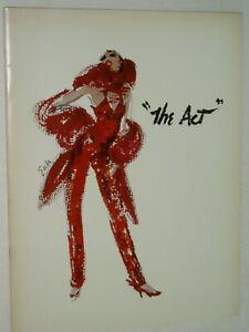 LIZA MINNELLI......THE ACT   programme......USA....1977