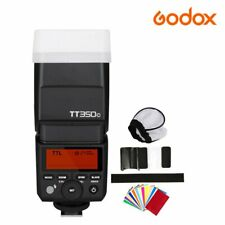 Godox Mini TT350C 2.4G TTL GN36 HSS Camera Flash Speedlite Flash Gun For Canon