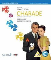 Charade - A Beautiful New Restoration (Dual Format Edition) - BluRay O_B011002