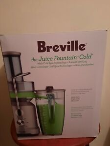 Breville Juicer the Juice Fountain Cold Plus 110 Volts