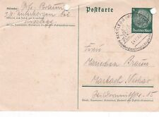 Germany 1940 Kisslegg CDS 6pfg Postcard VGC
