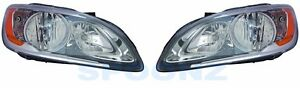 VOLVO S60 V60 CROSS COUNTRY 2014 2015 HEADLIGHT HEAD LIGHT HALOGEN TYPE - PAIR