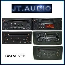 Renault Car Radio Stereo Code Decode Recode Service Clio Megane Scenic Etc Quick