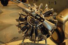 519048 nationale musée de l'aviation Pratt & Whitney r1340 47 WASP A4 papier photo
