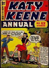 Archie Comics Katy Keene Annual #1 Vg+ 4.5
