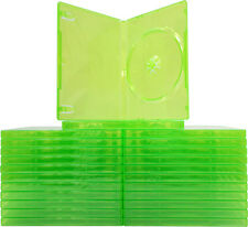 (25) VGBR14XBOX XBox 360 Translucent GREEN Empty Game Boxes Cases X-Box NEW