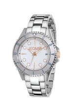 Just Cavalli Women's R7253141045 Abyss Silver White Stainless Steel Date Watch