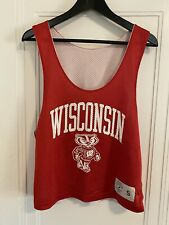 University Of Wisconsin Badgers Reversible Basketball Jersey Women's Size Small