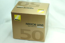 Brand NEW 50> Nikon Ai-s 50mm F1.2 Nikkor Lens NEW in Box