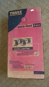 Thule Aero Foot #400 Roof Rack Bike Mount System Feet Towers NIB