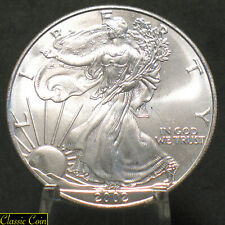 2002 U.S. America Silver Eagle Dollar $1 Uncirculated 1oz Silver