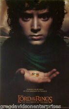 Lord Of The Rings 22x34 Fellowship Theatrical Art Movie Poster 2001 Frodo