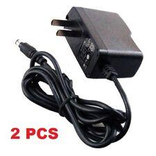 2PCS-Power Adaptor Supply Input AC 100-240V Output DC 12V 1A for Security Camera