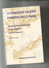 LA COMMISSION ITALIENNE D'ARMISTICE AVEC LA FRANCE