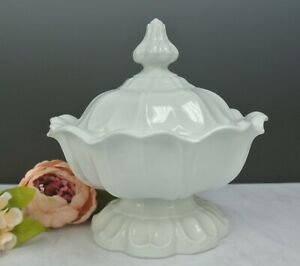 Antique T & R Boote Sydenham Shape Lidded Footed Bowl