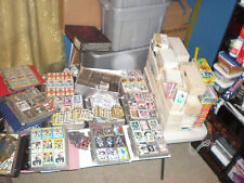 HUGE LOT OF OVER 20,000 SPORTS CARDS BASEBALL, FOOTBALL, BASKETBALL & HOCKEY