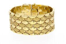 8442-333er G.Gold armband  Lang 19 cm Breit 2,85 cm Gewicht 46,7 Gramm