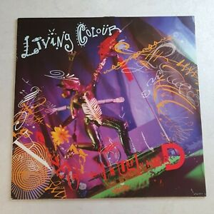 Living Colour – Love Rears Its Ugly Head - UK - 1990 - Epic - 656593 6 - NM/EX