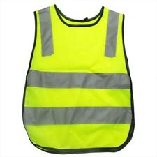 Polyester Fabric Safety Vest Kids Reflective Safety Vest Student Hi Viz Safety