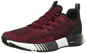 Reebok Men's Shoes Fusion Flexweave, Black/Rustic Wine/Cranberry, Size 7.0 oTlO