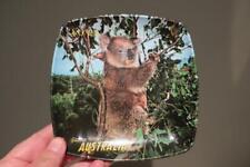 Vintage Souvenir Melamine Dish / Plate - Koala / Australia - Gc