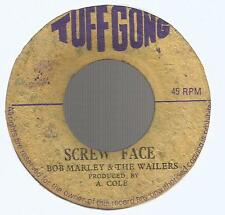 "BOB MARLEY & THE WAILERS - SCREW FACE / FACEMAN         7""VG"