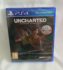 Uncharted Zaginione Dziedzictwo + DLC Jak and Daxter PS4 BOX NEU NEW OVP