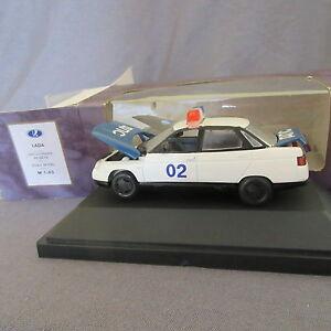 286C Agat Russia lada 2110 Soviet Police 02 Vaz USSR 1:43 +Box
