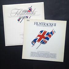 FILMTRACKS I+II 3LP Set [Best of British Film Music] Soundtracks OSTs Pink Floyd