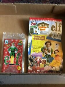 Wendy's Kids Meal Elf Holiday Travel Game, Meal Bag, NIP, 2004