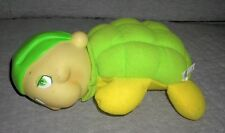 Soma  turtle   light up glo worm    green yellow  year 2000    smoke free home