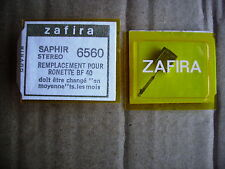 Cellule saphir zafira platine vinyl 6560 ronette bf 40 bf40