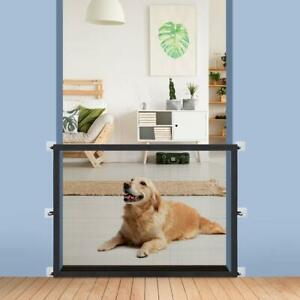 """Dog Barrier Mesh Pet gate Enclosure Easy Install 28"""" Tall"""