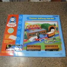THOMAS & FRIENDS - THOMAS' RAILWAY FUN SET BATTERY OPERATED BRAND NEW MUST @@!!